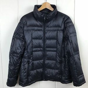 Calvin Klein Women's Black Down Jacket Coat Sz XL